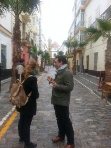 Street teaching