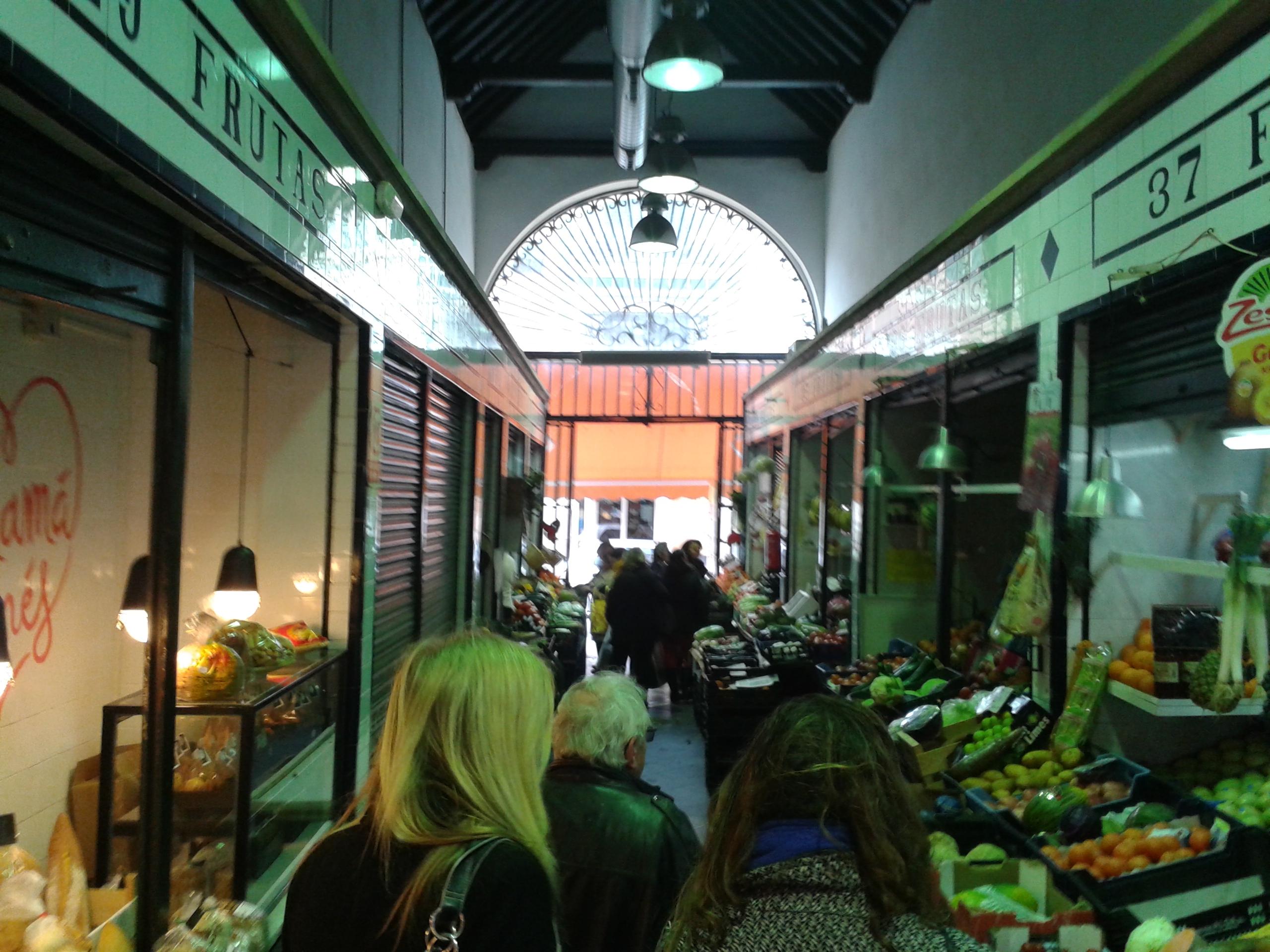 Mercado de Abastos Calle Feria