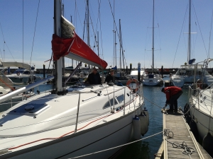 Our sailing boat: Tercio