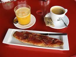Andalucia breakfast